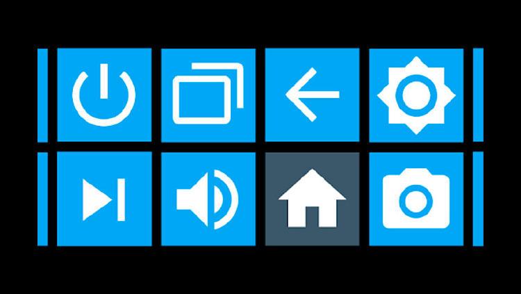 app botones android tv