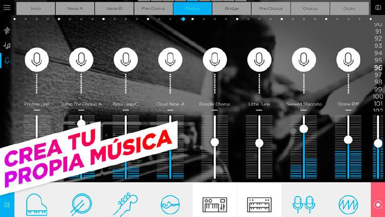 crear musica movil