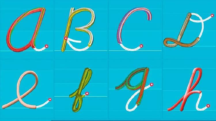 Dibujar letras movil apps