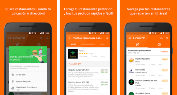 app comida a domicilio | take eat easy