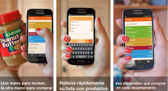 organizy | apps para hacer la compra