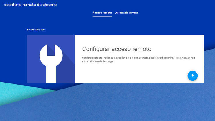 escritorio remoto google chrome