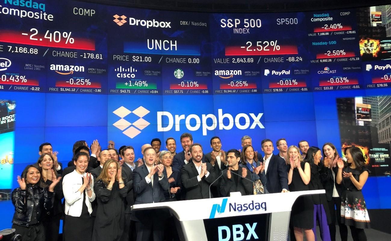 Dropbox NASDAQ