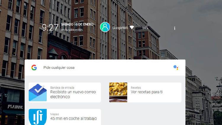 posible diseño de Fuchsia OS