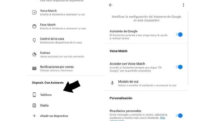 Desactiva Okay Google en tu móvil o configura el asistente