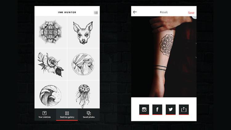 tatuajes app movil