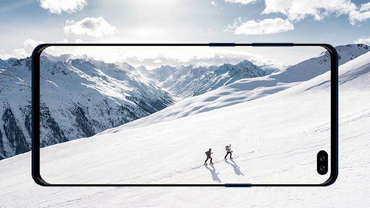 foto movil nieve