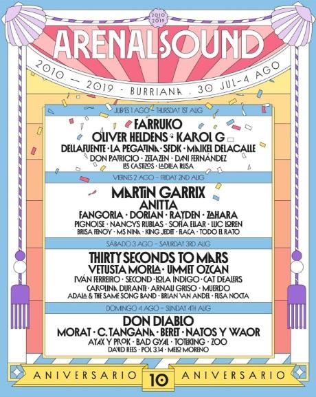 cartel arenal sound 2019