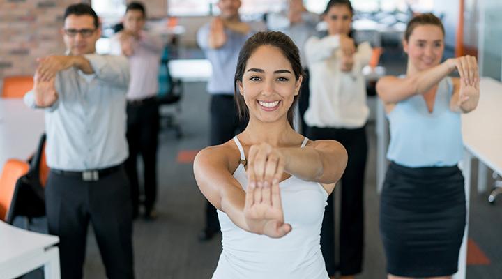 El Yoga en la jornada laboral