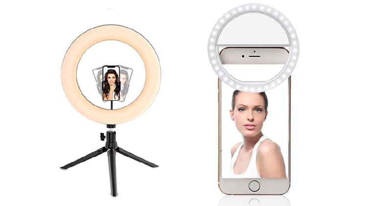 anillo luz selfie