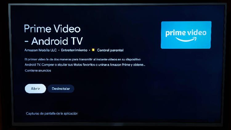 amazon prime video Android tv