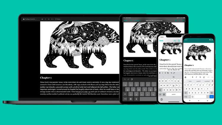 escribir libro movil app redaccion