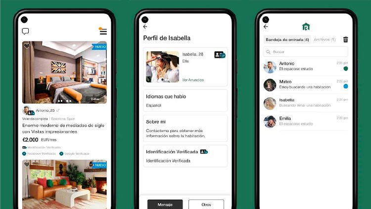 roomster app piso