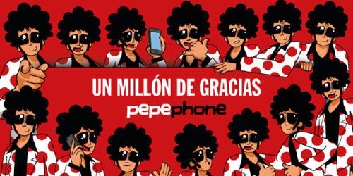 pepephone.1millon