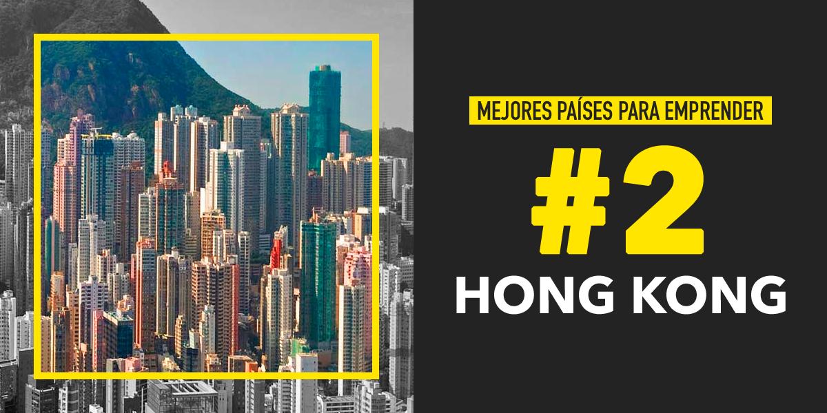 Hong Kong, uno de Los mejores países para emprender