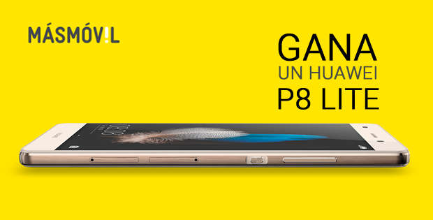 Sorteamos un Huawei P8 Lite
