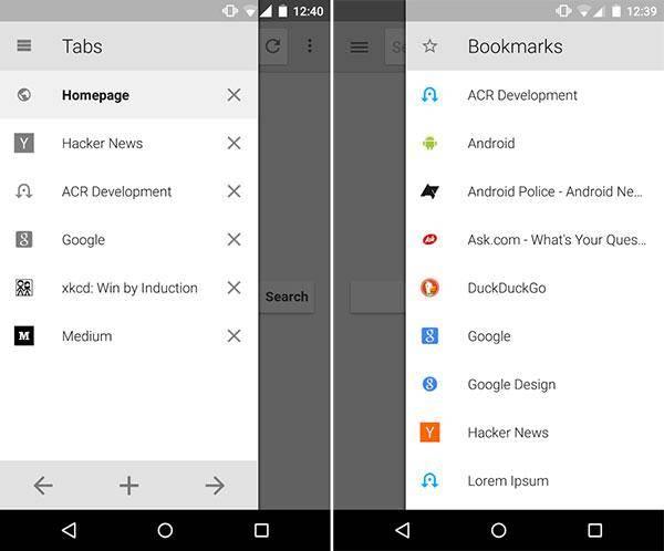 ¿Qué navegador es mejor para Android? | Lightning
