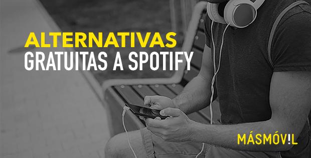 Alternativas gratuitas a spotify