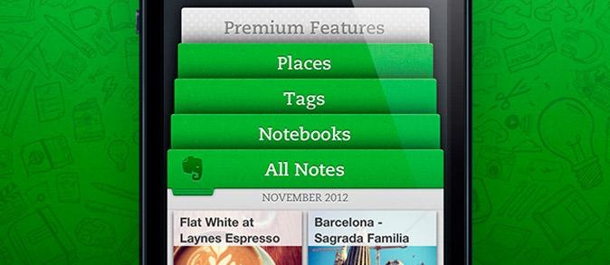 Evernote 5.0 para iOS