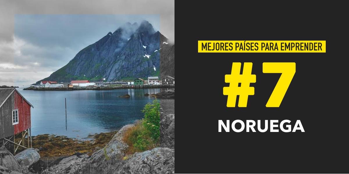 Noruega, uno de Los mejores países para emprender