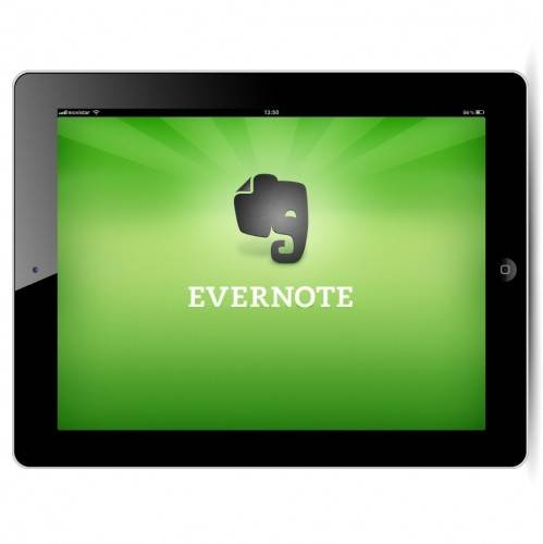mejor app ipad | evernote ipad