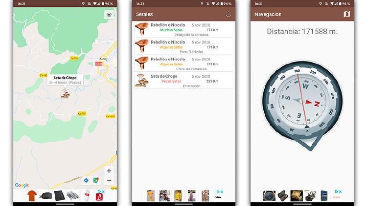 apps buscar setas