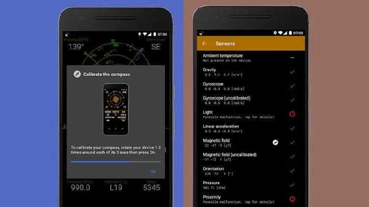 calibrar GPS app