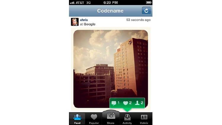 App instagram 2010